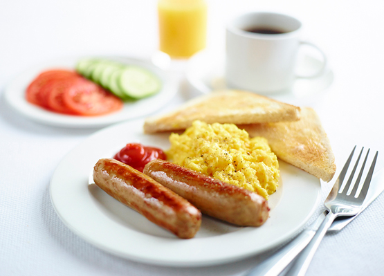 Enjoy a hearty breakfast at our hotel in Leeds