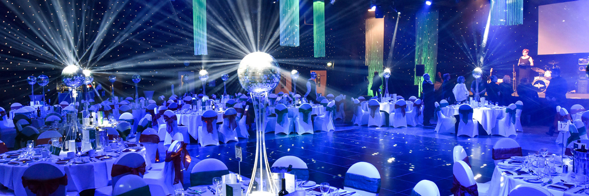 Experience glitz and glam at New Dock Hall